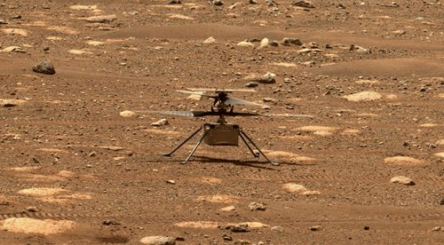 NASA's Ingenuity Helicopter Takes Flight on Mars - ExtremeTech