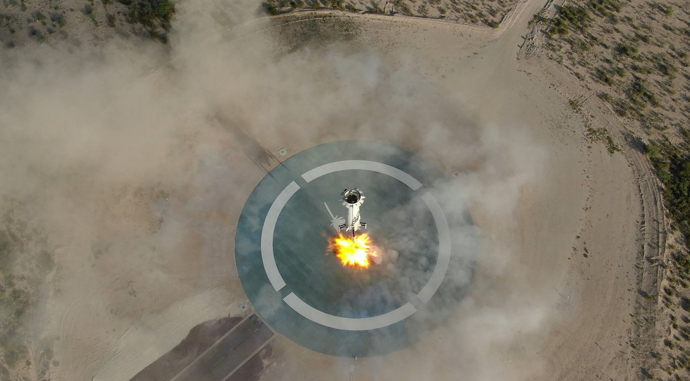 NASA Will Test Autonomous Landing System on New Shepard Rocket
