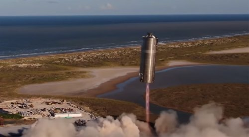 SpaceX Starship Prototype Completed 'Hop' Test Flight