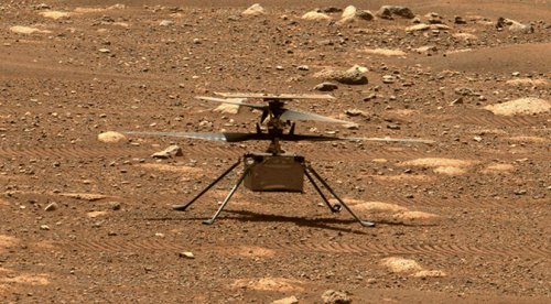 NASA's Mars Helicopter Remains Grounded Awaiting Software Fix