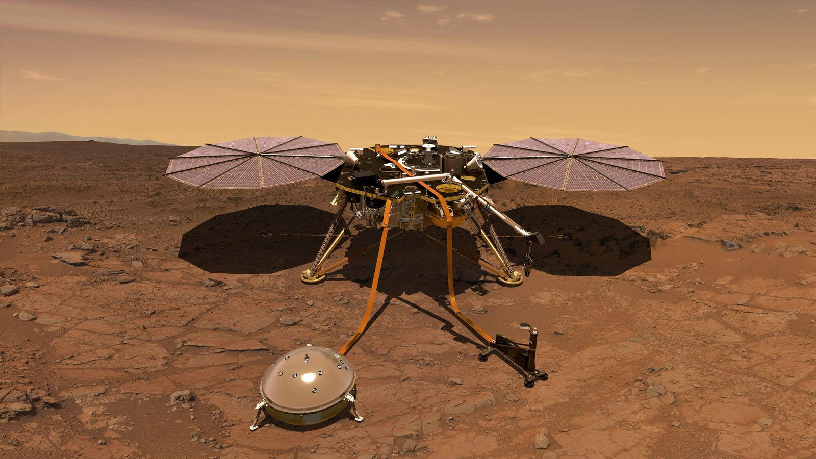 Watch NASA's Mars Lander Clean Itself Using... Sand - cover