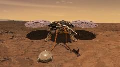 Discover mars probe