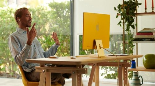Apple Announces Array of Brightly Colored, M1-Powered iMacs
