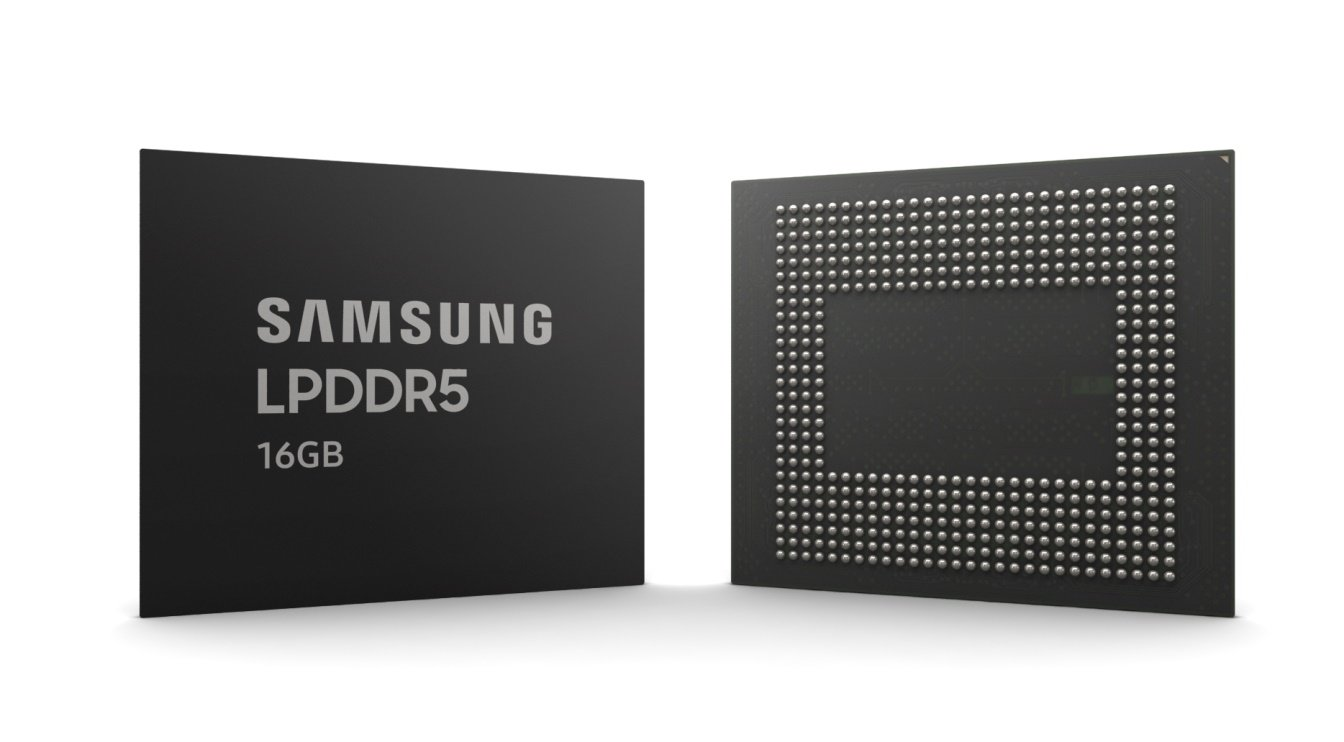 Samsung Now Producing 16Gb LPDDR5 With Extreme Ultraviolet Lithography