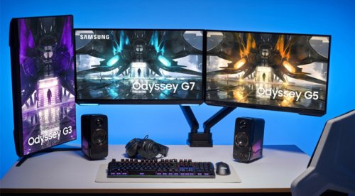 Samsung Announces New, Less Curvy Odyssey Gaming Monitors - ExtremeTech