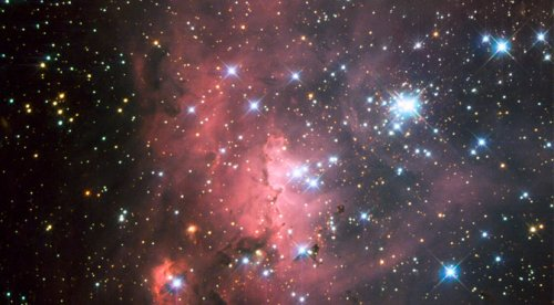Astronomers Discover Cluster of Rare Explosive Stars