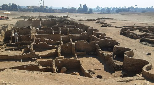 Archaeologists Discover Lost Egyptian City Said to Rival Pompeii