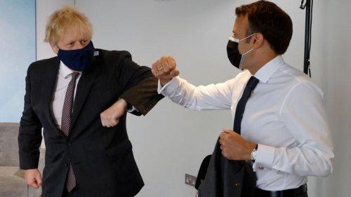 Au G7, «la guerre de la saucisse» oppose Boris Johnson et Emmanuel Macron