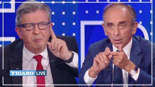Le débat entre Jean-Luc Mélenchon et Éric Zemmour décrypté par un spécialiste en rhétorique