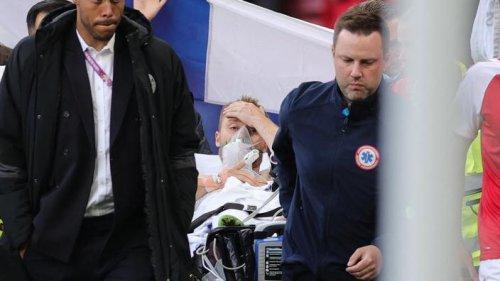 Euro 2020 : victime d'un malaise en plein match, le Danois Eriksen dans un «état stable» et «conscient»