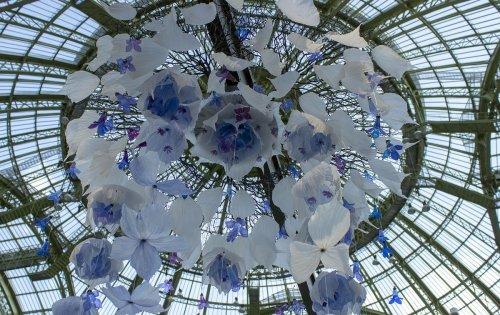 William Amor, l'artiste qui cisèle des fleurs extraordinaires à partir de déchets plastiques