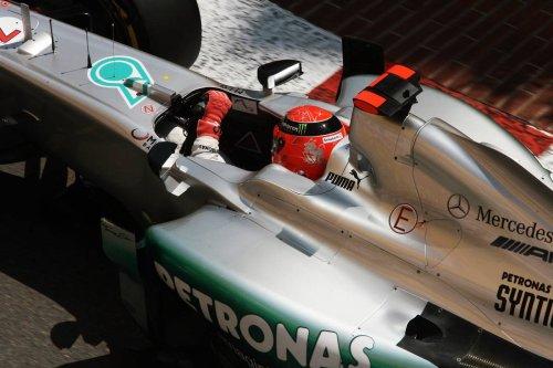 Mercedes' Vowles 'heartbroken' by Schumacher's winless track record