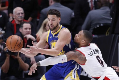 """Damian Lillard Slams Fan For Suggesting Klay Thompson Should Replace Him On NBA's 75 List: """"Apparently Yo Book Isn't Qualified Enough To Make These Decisions. You Big Mad."""""""