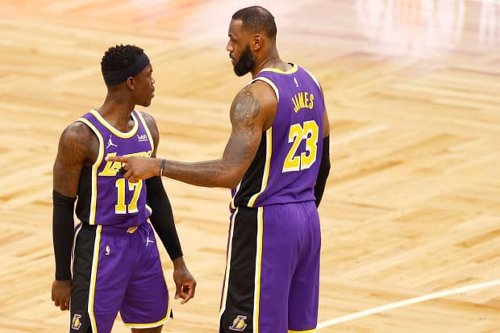 """Dennis Schroder Says He And LeBron James Are The Only Lakers Who Are Not Vaccinated: """"Nearly The Whole Team Is Vaccinated, Only LeBron And I Are Not, I Think."""""""