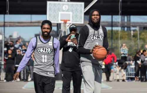 """Kevin Durant On Isiah Thomas Saying The Nets Can't Win A Ring Without Kyrie Irving: """"Fact"""""""