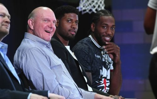 """Steve Ballmer On Lakers Fans Hating The Clippers: """"There Are 29 Other Teams You Have To Beat To Win A Championship... But You Must Be Pretty Worried About Us."""""""