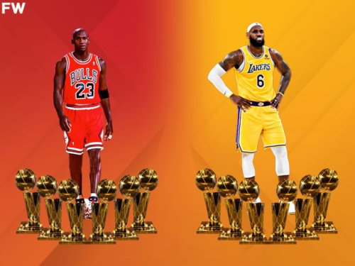 LeBron James Says He's Still Trying To Catch Up To Michael Jordan's Six Titles
