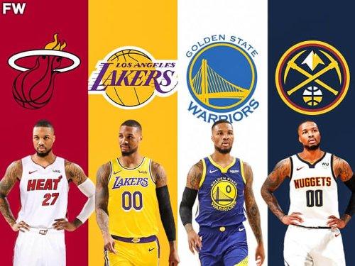 NBA Rumors: 4 Best Destinations For Damian Lillard This Summer