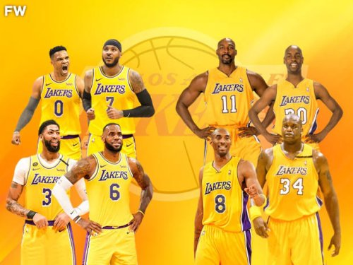 """Paul Pierce Compares 2022 Lakers With Carmelo Anthony And Russell Westbrook To 2004 Lakers Squad: """"This Team Is Really Giving Me That Karl Malone Gary Payton When They Were With Kobe, That Kind Of Feel."""""""