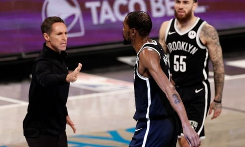 """Steve Nash After Elimination: """"We're Missing Kyrie And James Is On One Leg. You Have To Understand It's Not The Same."""""""