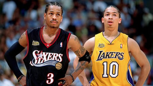Allen Iverson To A Player At The Free-Throw Line: 'Only Reason You Got That $5M Is For Running Around After Me.'