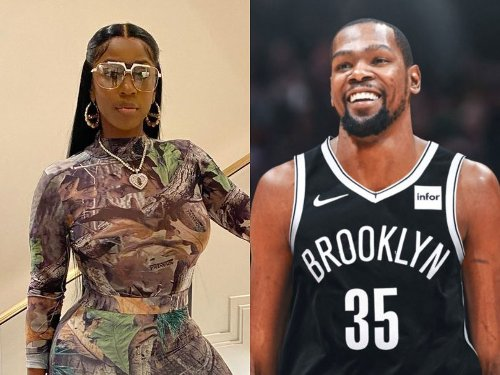 """Kash Doll: 'I FaceTimed Kevin Durant Last Night On Set While My Black Eye And Bloody Nose Make Up Was On And Told Him His Fans Did That To Me Because Of The """"KD"""" Argument'"""