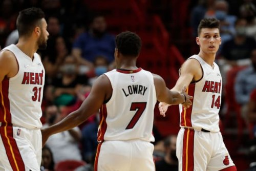 """Tyler Herro On Kyle Lowry: """"My First Two Years In The League I Didn't Really Have A Point Guard That Could Get Everyone Organized To Their Spots."""""""