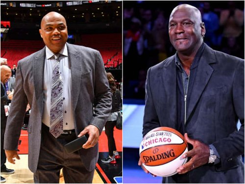 """Charles Barkley Roasts Michael Jordan During Scottie Pippen's Jersey Retirement Ceremony: """"Michael Jordan Should Be Kissing The Ground That You Walk On Because You Helped Them Win All Those Championships And Did All The Heavy Lifting"""""""