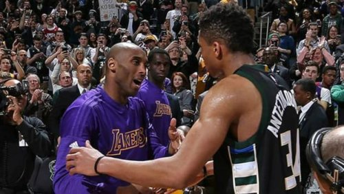 """Kobe Bryant's Story About Giannis Antetokounmpo: """"He Came To Work Out With Me This Summer And He Showed Up 1.5 Hours Early. We Talked For 20 Minutes Before We Worked Out And He Whips Out A Notepad And Starts Taking Down Notes..."""""""