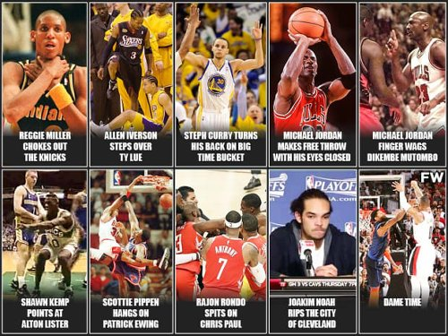 The Most Disrespectful NBA Moments Of All Time