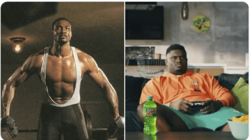 NBA Fans Compare Jordan's Competition vs. LeBron's Competition: Strong And Fit Karl Malone vs. Fat Zion Williamson