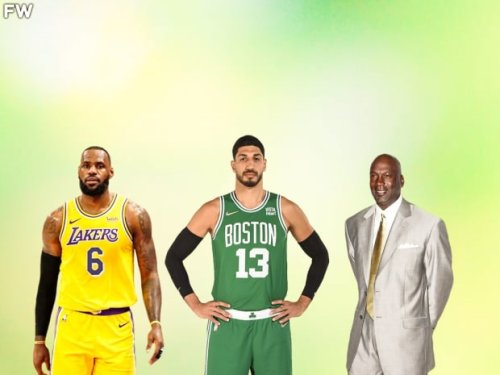"""Enes Kanter Calls Out LeBron James, Michael Jordan, And Nike Over 'Slave Labor Camps' In China: """"You Can See It With Your Own Eyes."""""""