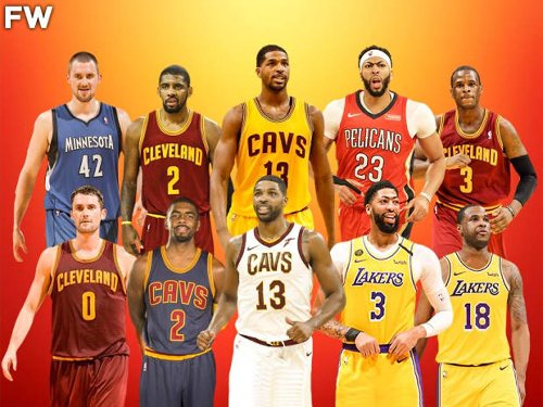 Only Five Top-5 Picks Have Won An NBA Championship And They Were All LeBron James Teammates