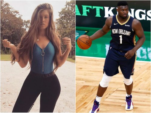 Zion Williamson Caught Sliding Into Fitness Model's DM: 'Do You Still Want To Link?'