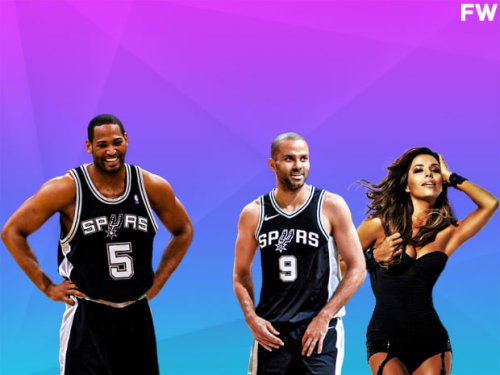 """Robert Horry Says The Spurs Were The """"Boringest"""" Team Where He Played: """"The Most Exciting Thing We Had Was When Tony Parker And Eva Longoria Started Dating."""""""