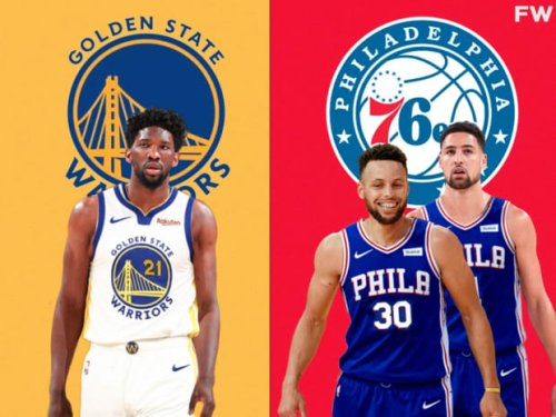 """Joel Embiid Says If The Warriors Offered Stephen Curry And Klay Thompson To The Sixers In Exchange For Him, They Would Accept It: """"I Wouldn't Say No To That."""""""