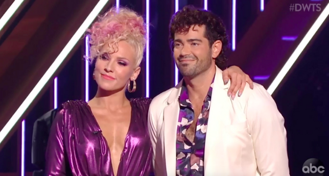 Find Out Who Dancing With The Stars Eliminated During '80s Night