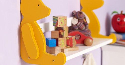 Bücherregal selber bauen: Cooles Bären-Board fürs Kinderzimmer   familie.de