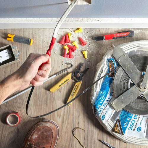 How to Fish Wire Through A Wall
