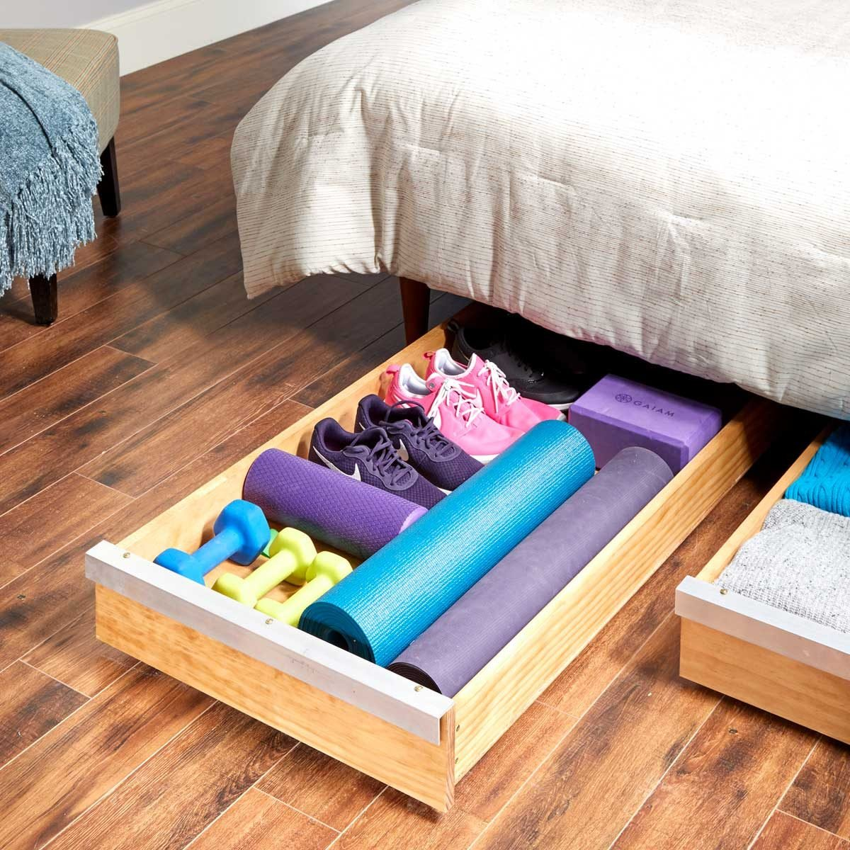 How to Make a DIY Under-Bed Storage Drawer