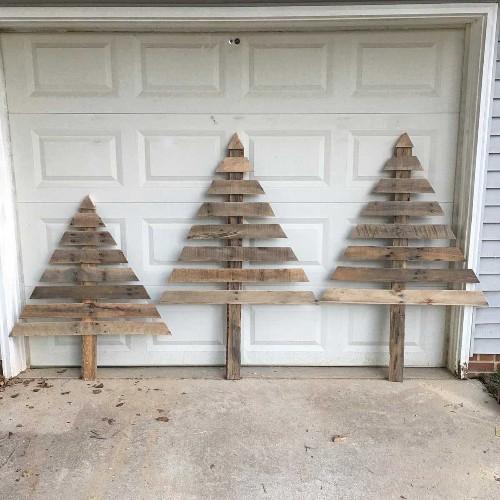 21 Alternative DIY Christmas Tree Ideas
