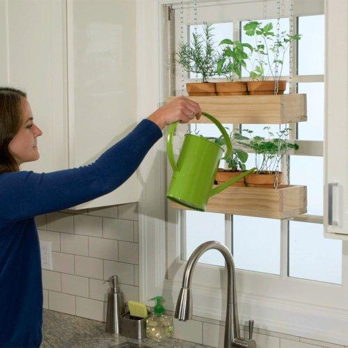 How to Build a Hanging Indoor Herb Garden