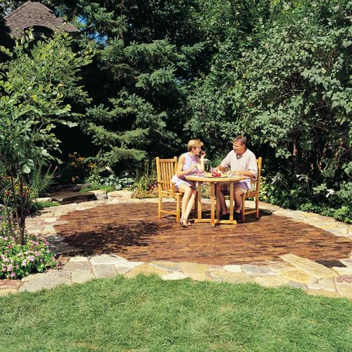 How To Build a Stone and Brick Patio for Your Backyard