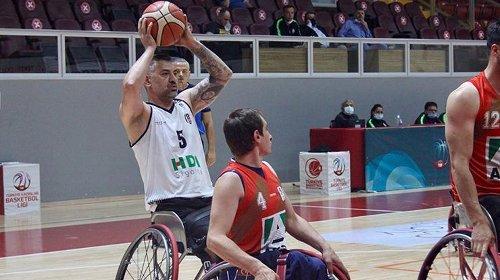 Tekerlekli Sandalye Basketbol Süper Ligi play-off çeyrek final...