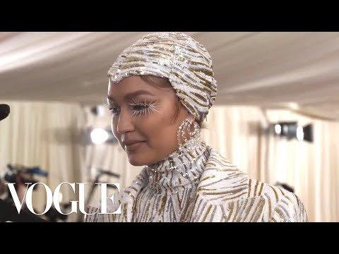 Gigi Hadid Video: Gigi Hadid on Her Cher and Liberace-Inspired Met Gala Look   Met Gala 2019 With Liza Koshy   Vogue