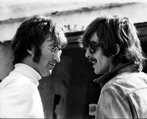 Looking back at George Harrison's touching tribute song for John Lennon