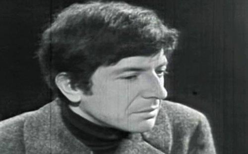 "Watch Leonard Cohen discuss the ""poetic mind"" on CBC 1966"