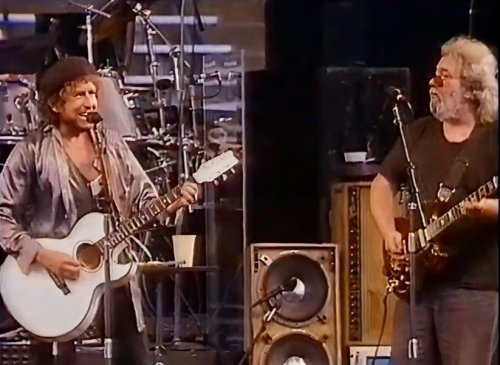 Watch Bob Dylan and The Grateful Dead perform together on 'I Want You'