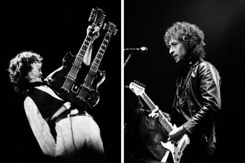 The Led Zeppelin song inspired by Bob Dylan