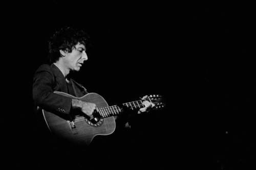 The complete 178-track playlist of Leonard Cohen's live shows